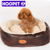 Round dog beds fluffy pet bed made in china