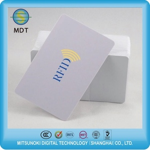 Low cost high frequency rfid proximity card