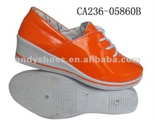 Women fashion high heel sneakers shoes 2012
