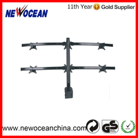 China Supplier six screen monitor mount from direct factory