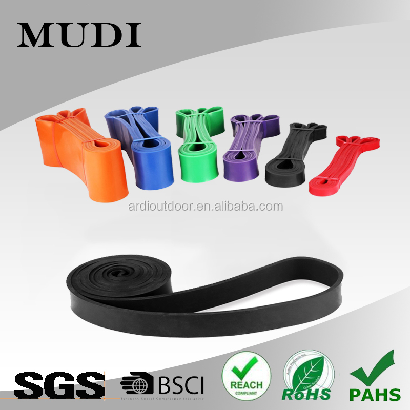 Resistance Bands Exercise Loop Crossfit Strength Training Workout Fitness Yoga
