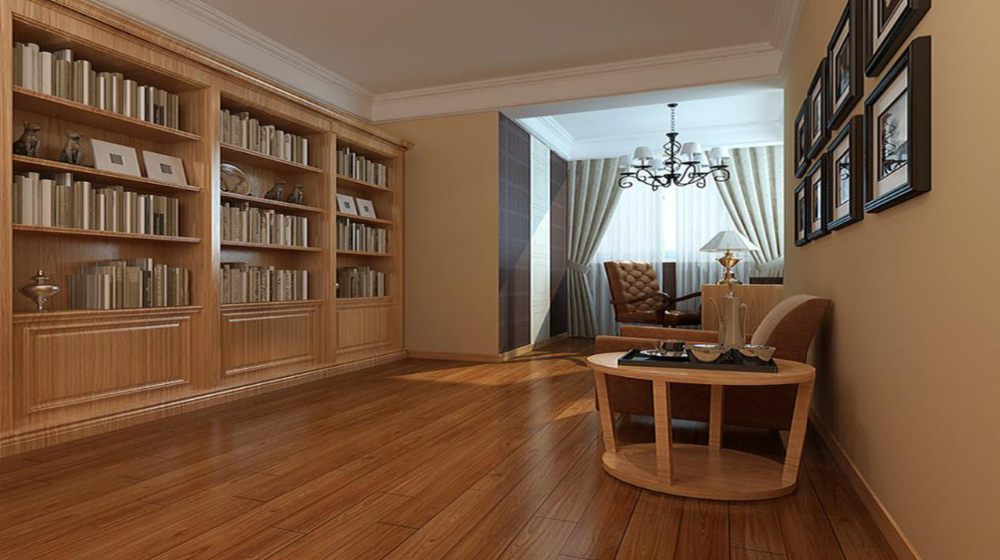 Colorful stained waterproof bamboo flooring made in China