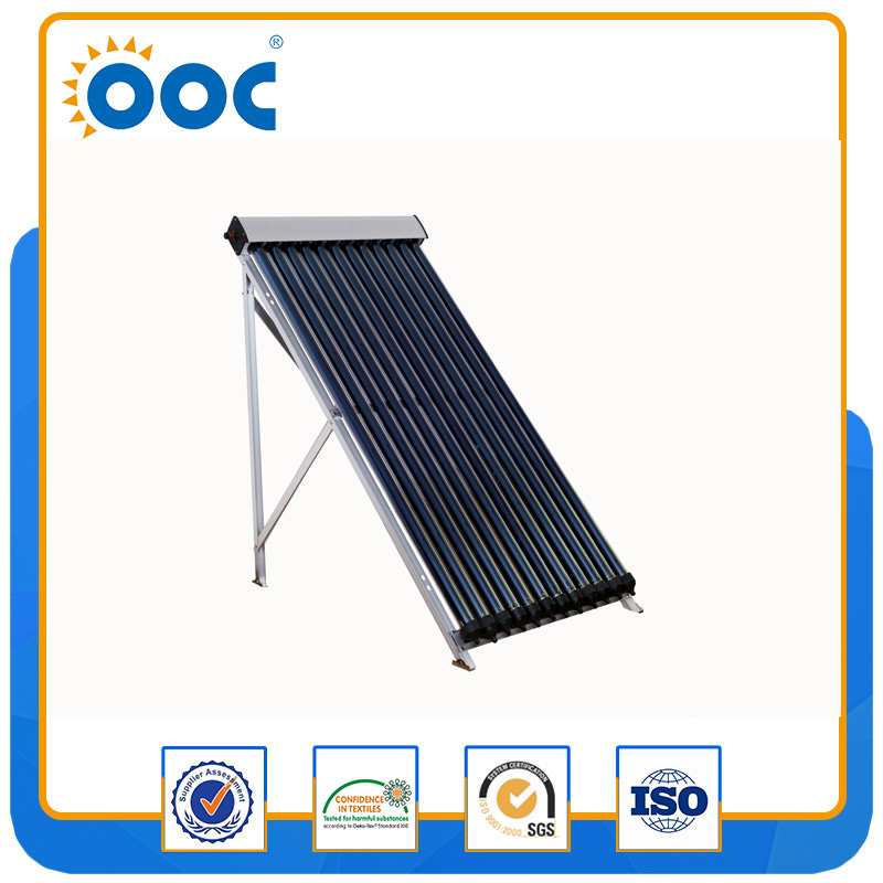 18tube solar collector with heat pipe for swimming pool