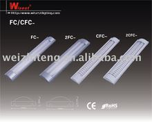 t5 t8 double tube fluorescent light fixture cover