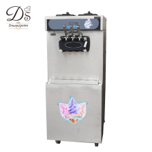 Full stainless steel 50L three flavor floor standing ice cream machine with pre-cooling system