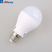 7W motion sensor lamp led e27 bulb sound and light control auto smart detection lampada movimento luz cold white CE Rohs
