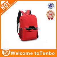 wholesale nylon material fashion student school bag