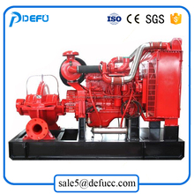 double suction split case water pump , diesel engine driven rotary pump