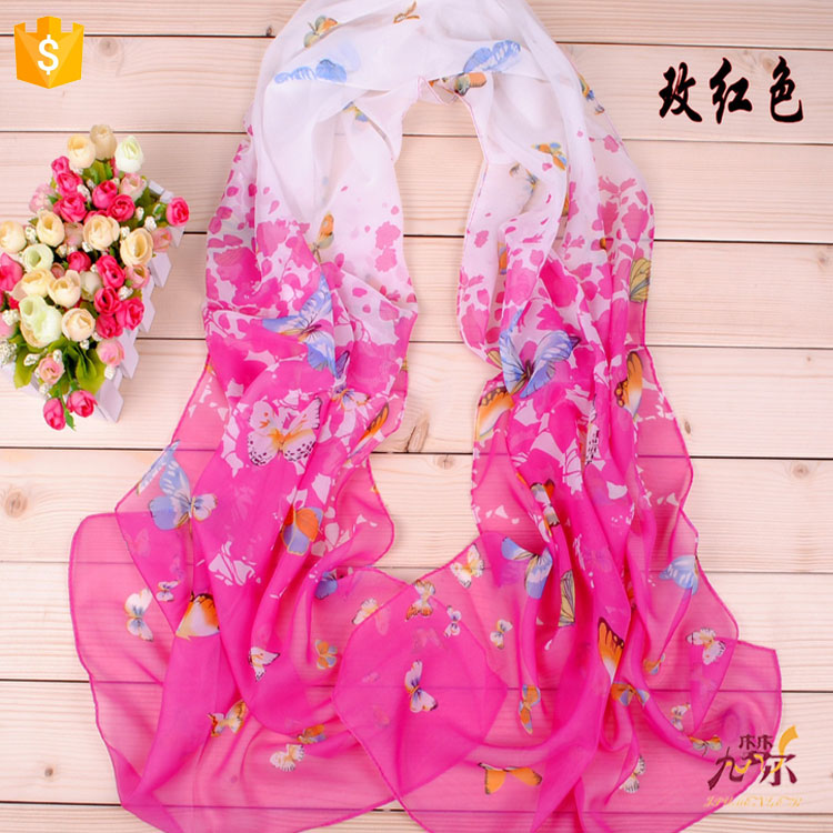 China factory wholesale custom silk scarves for dyeing