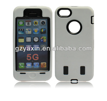 Robot arrived mobile phone case robot combo cases for iphone 5