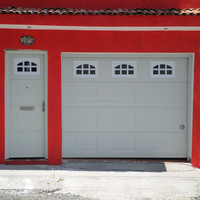Side Opening Garage doors Made in China