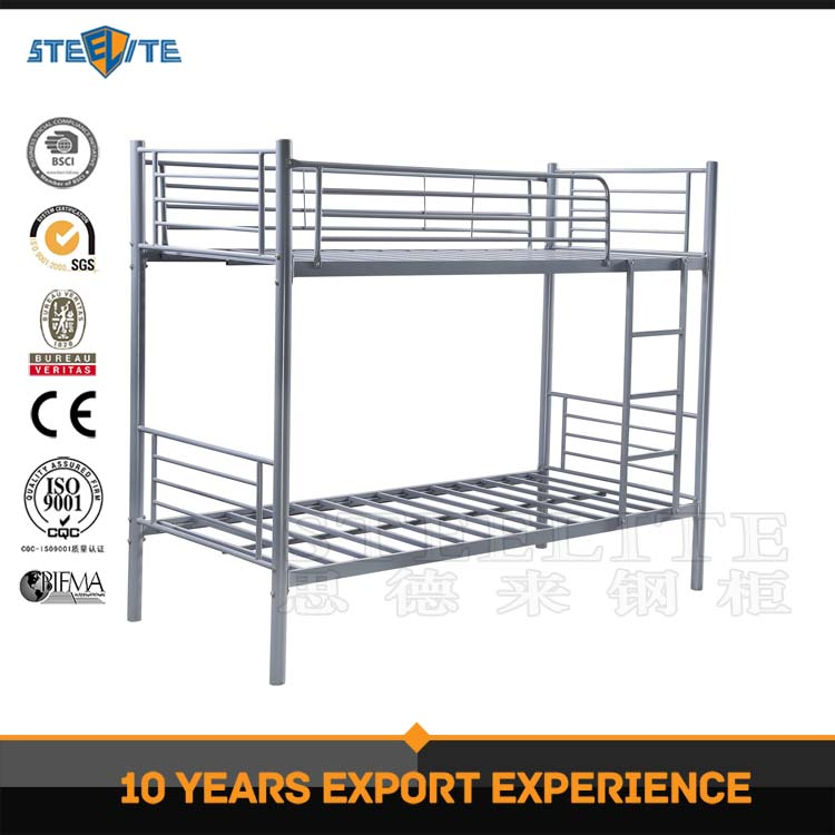 Modern Fashionable used school students metal triple bunk beds / Bunk Beds For Hostels