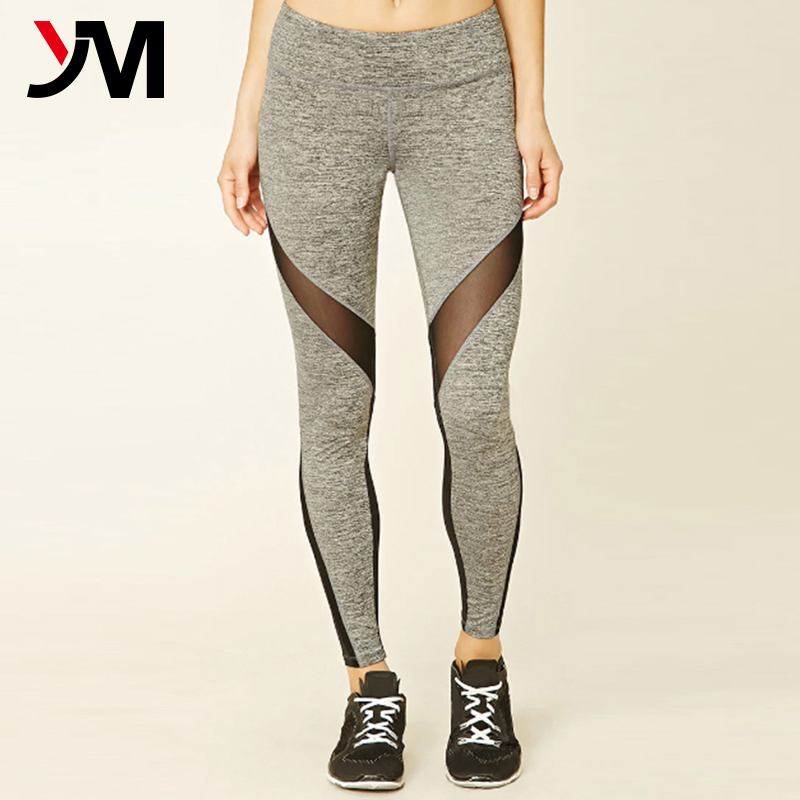 Hot Sale Yoga Apparel Latest Design Gym Pants Low MOQ Sports Tights For Women