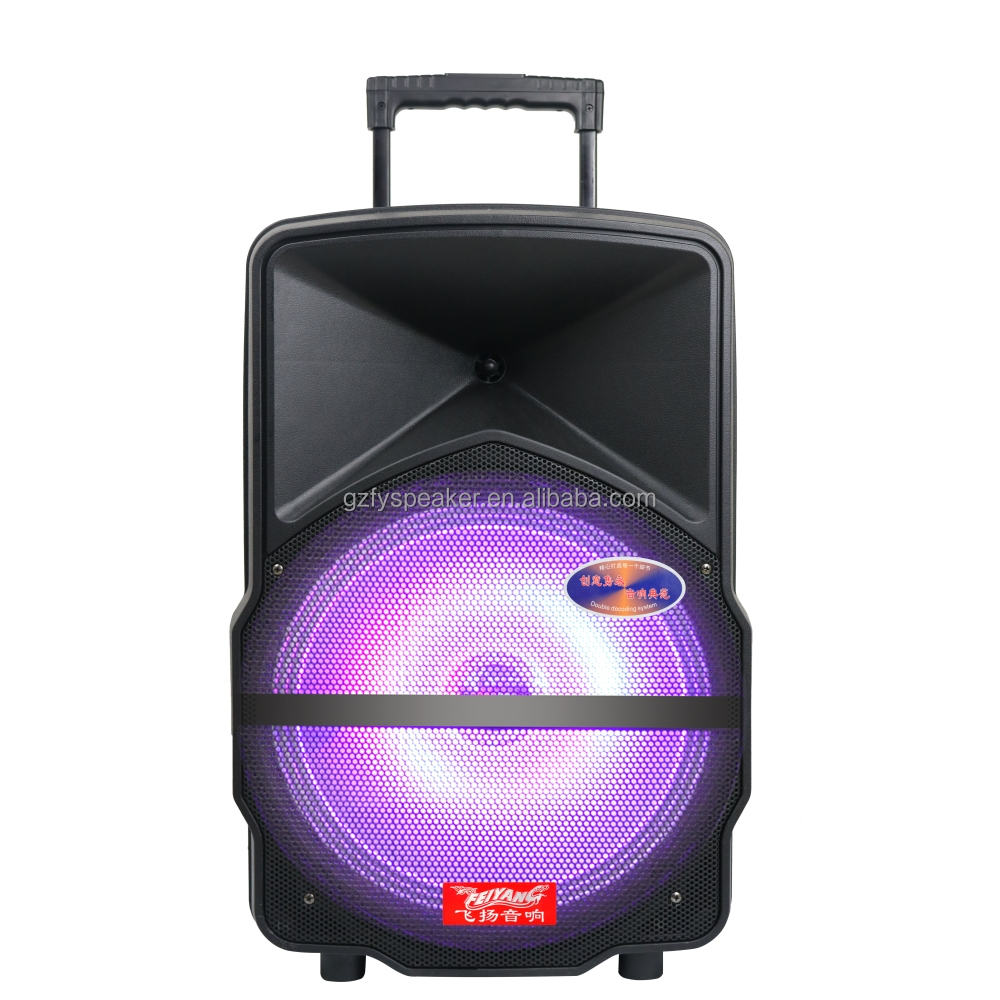 Feiyang Temeisheng harga speaker subwoofer 15 inch 1000 watt home theater speaker system with best price FY15-01