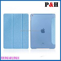 For iPad 6 PU Leather Case, Leather Tablet Case For Apple iPad 6/Air 2 Case, Tablet Cover For iPad Air 2 Leather Case