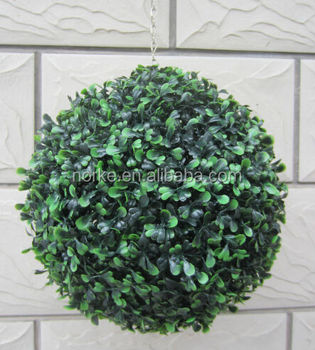 Top Quality Hanging Artificial Boxwood Ball
