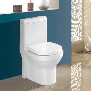 western design high quality stainless steel WC water closet one piece toilet