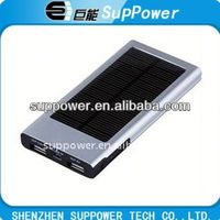 2000mAh wallet size solar charger for mobile & for digital devices