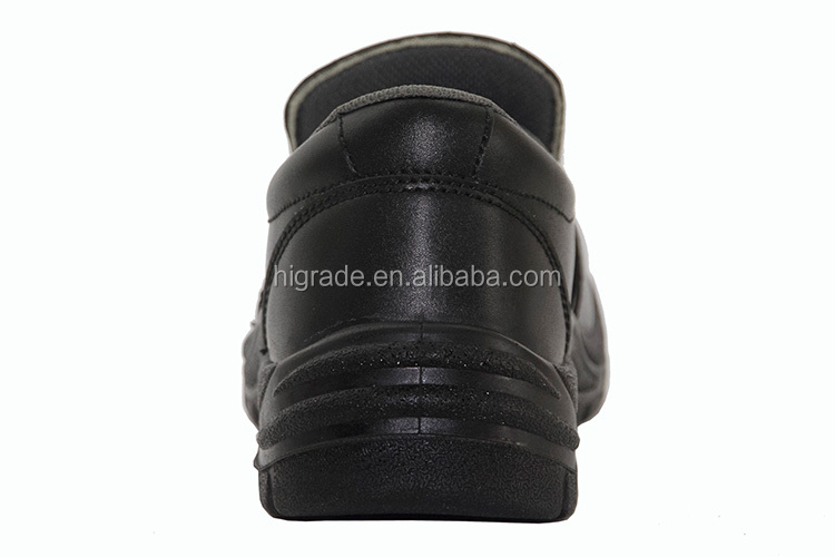212012 China artificial leather safety shoes PU outer sole steel toe work boot