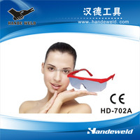 Transparent safety goggles with CE certification