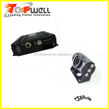 GPS 3G Wifi Car Mobile NVR +AHD Camera