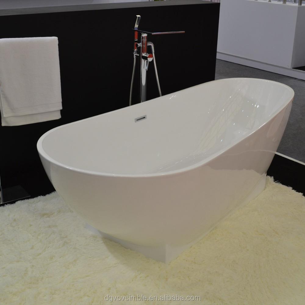 Pietra artificiale vasca da bagno/resina acrilica vasca da bagno, pietra Artificiale design ...