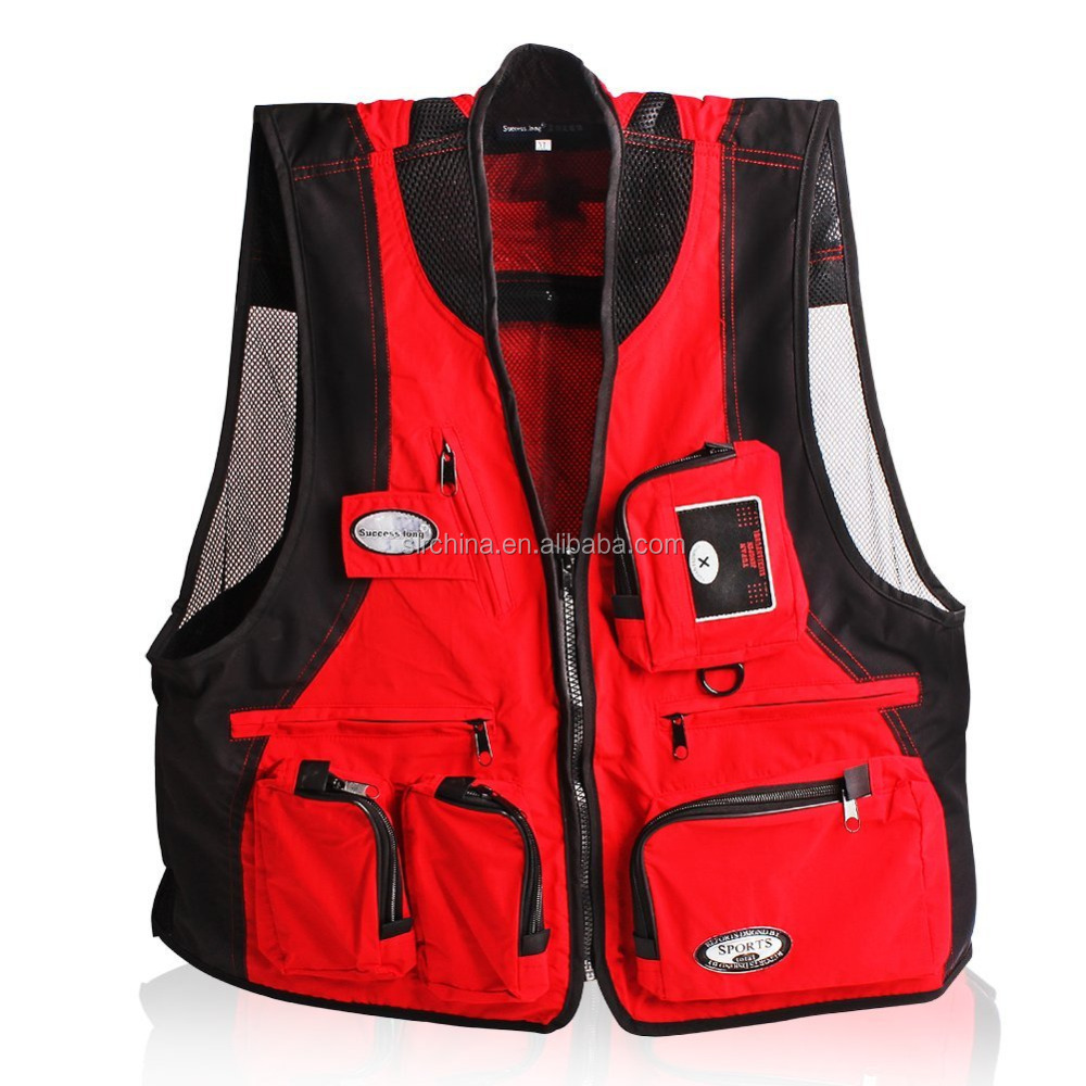 Fishing Photo Photography Photographer Vest Plus Size Available