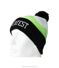100% Acrylic Custom Winter Knitted Beanie Hat K19
