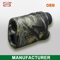 Aite Brnad 6*24 400Meters(Yard) camo laser range finder with speed measure function theraband