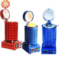 gold smelting equipment 2kg mini electric melting furnace