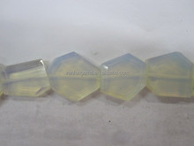 Wholesale opalite Tumbled flat loosen faceted gemstone supplier