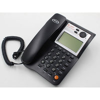 China Goods Wholesale Corded Telephones , Corded Talking Caller Id Phone