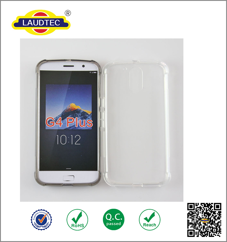 New shockproof design Alpha Silicone antiskid cell phone TPU case for MOTO G4 Plus case ----- Laudtec