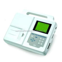 SW-ECG300 home ecg machine handheld portable Three-Channel ECG