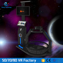 Perfect body design virtual reality simulator standing-up flight simulator for big sale