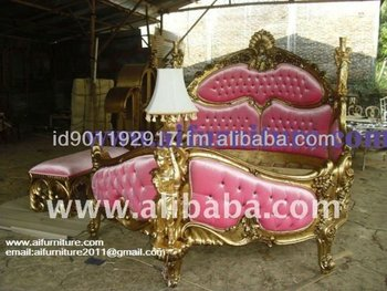 sell bed french furniture indonesia-sellfurniturejepar-sell bed antique classic colonial french furniture indonesia
