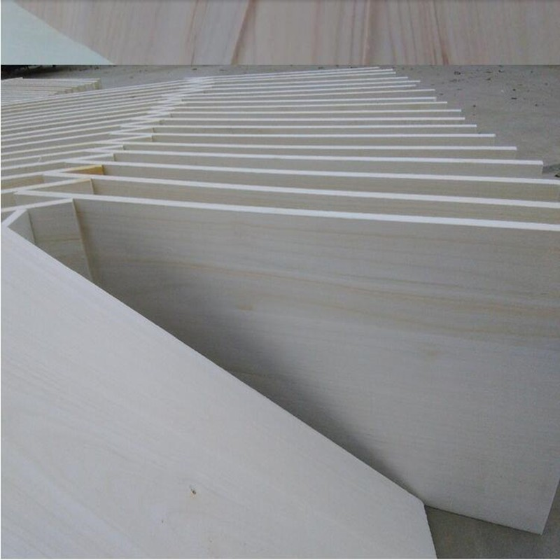 manufacturer paulownia edge glued solid lumber panel breaking board