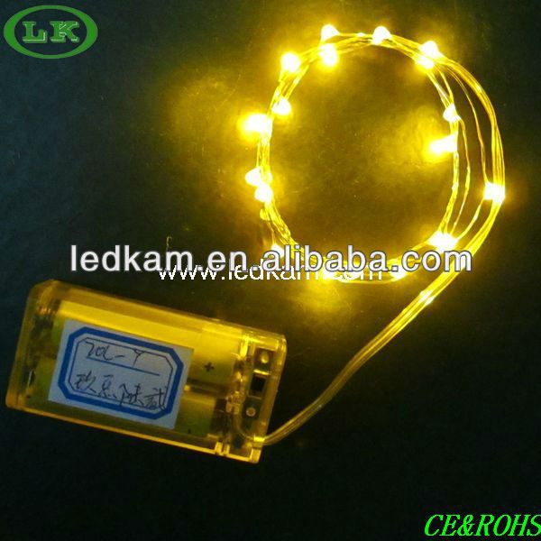 LK led fairy string battery string lights mini