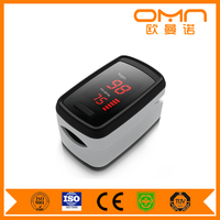Portable Digital Fingertip Pulse Oximeter Instant Read Health Monitoring Display Suitable for Athletes or Aviation Enthusiasts