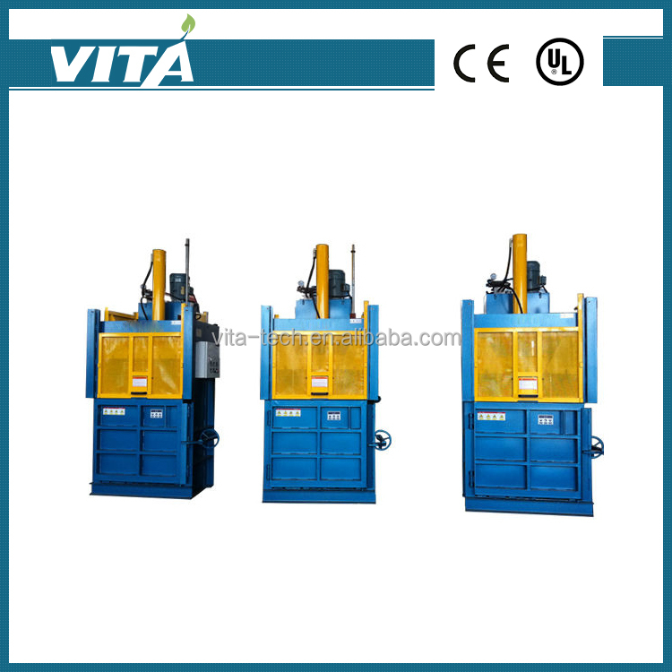 Hot Sale Medium-sized Vertical Hydraulic Baler Machine