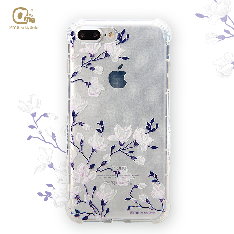 wholesale clear back cover soft TPU mobile phone case cover for iphone 7