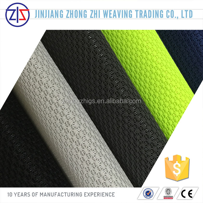 micro polyester spacer mesh fabric for sports shoes
