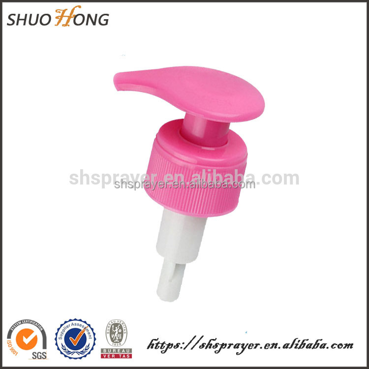 High quality plastic bathroom accessories long time sex spray lotion pump
