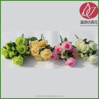 Cheap new products silk rose bushes