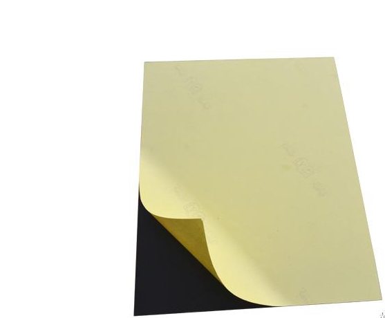 double side adhesive inner pages PVC sheet for photo album, hard rigid pvc sheet black