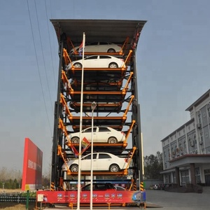 CE approved 12SUV Vertical Rotary Mechanical Smart Car Parking System