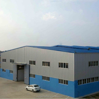 Good mechanical rigid steel frame structure