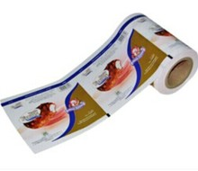 High quality 6 color printing film plastic Wrappers for Ice Cream Novelties