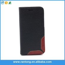 China wholesale leather mobile phone cover for iphone 5c case