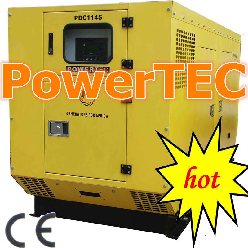 ISO CE approved generator set soudproof diesel generator with world famous brand engine